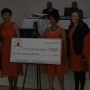 Check presented to American Heart Association's Go Red for Women campaign