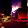 Firefighters say Logan apartment fire was intentionally set