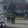 Firefighters working to clean up ammonia leak at FedEx Freight